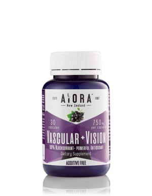 AiOra Vascular + Vision Dietary Supplement